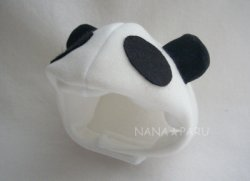 画像1: 被り物【パンダ】
